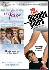 The Favor / Illegally Yours (DVD) Rob Lowe, Elizabeth McGovern, Brad Pitt NEW