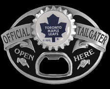 TORONTO MAPLE LEAFS TAILGATER BOTTLE OPENER BELT BUCKLE NEW!
