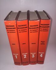 Ingenious Mechanisms for Designers and Inventors Volumes 1-4 H/C D/J  23rd Ed.