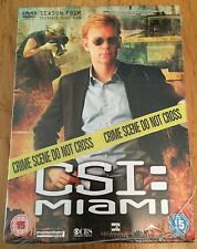 CSI - Crime Scene Investigation MIAMI - Season 4 Episodes 4.13 - 4.25 Brand New