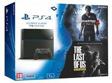 SONY PLAYSTATION4 PS4 1TB CUH-1208B ULTIMATE EDITION WITH 2 FREE GAMES BUNDLE
