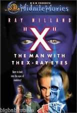 """X"": THE MAN WITH THE X-RAY EYES Midnite Movies Brand New & Factory Sealed DVD"