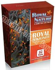 ROYAL NATURE ALKALINITY PRO TEST KIT, MARINE AQUARIUM, REEF, CORAL, 200 TESTS