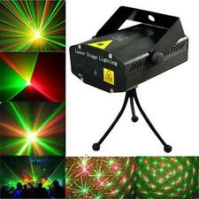 Mini R&G Laser Light Lighting Lamp Projector DJ Disco Stage Show Club Bar #A LN