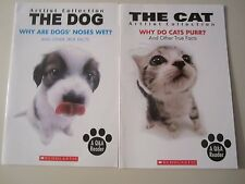 Why Are Dogs' Noses Wet? Why Do Cats Purr? Lot of 2 Q & A Readers Artlist