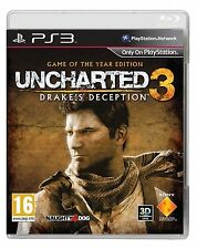 Uncharted 3: game of the year edition pour Sony Playstation 3-neuf scellé