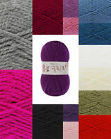King Cole Big Value Chunky 100g Knitting Wool - Free P&P Any Quantity