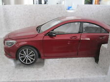 1:18 NOREV MERCEDES BENZ CLA CLASS - DEALER EDITION **REDUCED TO CLEAR**