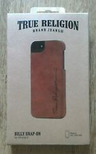 True Religion Leather Snap on Case for iphone 5 BNIB