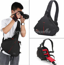 Digital Camera Lens Tripod DSLR SLR Padded Shoulder Bag Rucksack for Canon Nikon