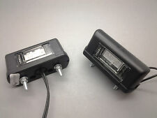 2 X MONARK LED 12 V & 24 V NUMBERPLATE LAMP FOR TRUCK TRAILER CAR BIKE ATV