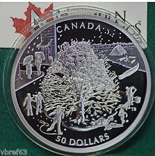 2006 Canada $50 Four Seasons Huge 5 oz. proof finish 99.99% silver All org pkg
