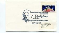 1978 Midwest Stamp Viking Mars Mission Shoulders Giants SPACE NASA USA