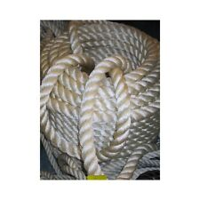 CORDAGE 3 TORONS POUR AMARRE Ø 10 MM POLYESTER