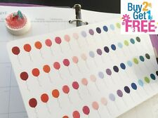 PP092 -- Small Balloon Planner Stickers for Erin Condren (60pcs) BUY2GET1FREE