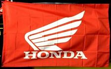 HONDA WING RACING HRC 3' x 5' BANNER FLAG dirt bike atv home garage wall decor