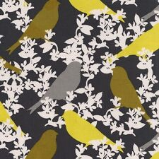 By 1/2 Yard  Michael Miller Cotton Fabric - Seedling Goldfinch - Thomas Paul