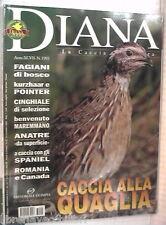DIANA 23 2003 Fagiani di bosco Cinghiale Anatre Pointer Quaglia Maremmano cocker
