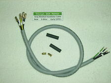 Triumph, BSA, Norton Gray Molded Handlebar Switch 5- Wire Cable  1971-75