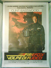 Firefox Volpe di Fuoco manifesto poster Clint Eastwood Air Force Mig CIA spie