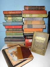 Lot of 10 UNSORTED MIX ANTIQUE Vintage Books Collectible Random HARD TO FIND