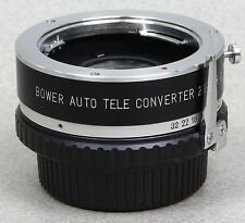 BOWER 2X AUTO TELECONVERTER for MINOLTA MD/SRT/X/XG/XD/XE Made in JAPAN