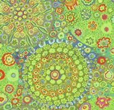 Kaffe Fassett MILLEFIORE GREEN Citron GP92 Quilt Fabric by the Quarter Yard FQ