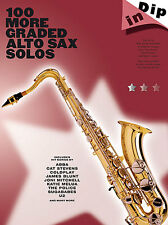 100 MORE Graded Solos For Alto Saxophone Sax Music Book JAZZ POP ROCK KENNY G
