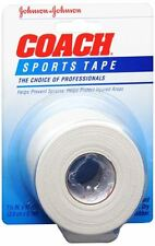 JOHNSON - JOHNSON COACH Sports Tape 1-1/2 Inches X 10 Yards (Pack of 5)