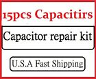 15pcs-- Gateway FPD2185W LCD Monitor Capacitor Repair Kit -- FPD 2185W