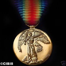VICTORY MEDAL WW1 BRITISH & IMPERIAL FORCES CAMPAIGN 1914-1919 REPRO EMPIRE '