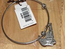 Bella Ryann Expandable Bracelet New Hampshire Granite State Old Man Mountain *