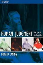 Human Judgment: The Eye of the Beholder-ExLibrary