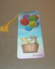 New 3D Lenticular Bookmark - KITTY UP- with Tassle - Image Pops Right Out