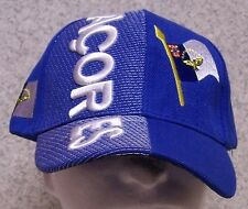 Embroidered Baseball Cap International Azores NEW 1 hat size fits all