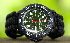 NEW! Timex Expedition Military Style Watch w/ Paracord Band & Adj Steel Shackle