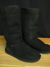 Authentic UGG Black Classic Tall Womens Boots Size 7 $195