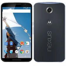 UNLOCKED Motorola Google Nexus 6 XT1103 32GB Midnight Blue Global GSM LTE Phone