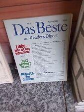 Reader's Digest, Das Beste, August 1980