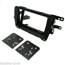CT23TY19L TOYOTA PRIUS 2010 ONWARDS LEFT HAND DRIVE BLACK DOUBLE DIN FACIA KIT