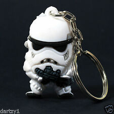 Star Wars Stormtrooper SD Rubber Key Chain Figure 1""
