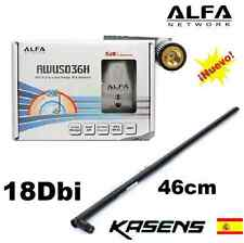 ANTENNA WIFI ALFA 1, 1000MW,8187l,AWUS036H+OMNI 18DBI SHIPMENTS FROM SPAIN 24H