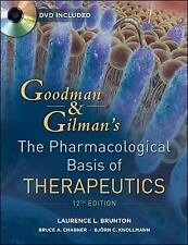 The Pharmacological Basis of Therapeutics by Knollman, Sanford