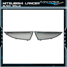 Fit For 2004-2005 Mitsubishi Lancer JDM Mesh Grille Grill Black OZ New 2004 2005