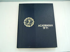 1971 Shady side academy Academian year book Pittsburgh PA