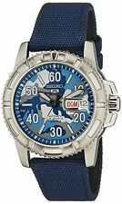 SEIKO SPORTS AUTOMATIC / HAND WINDING BLUE CAMOUFLAGE TOUGH BAND SRP223 SRP223K2