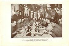 scotts last expedition 1913 plate - captain scott's last birthday dinner