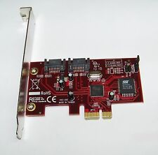 Rosewill (RC-211) Silicon Image 2-Port SATA PCI-E RAID 0/1/0+1/5/JBOD Card
