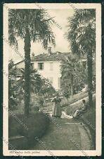 Como Albese con Cassano ABRASA cartolina QK3685