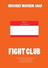 A4 POSTER-FIGHT CLUB (FOTO FILM Film DVD Blu-Ray Edward Norton Brad Pitt)